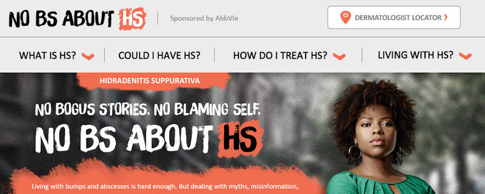 AbbVie: NO BS ABOUT HS